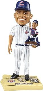 Willson Contreras Chicago Cubs Bobblehead Day Dual Bobblehead Newspaper Base Bobblehead MLB