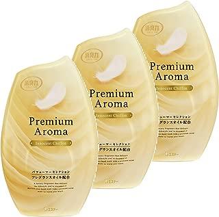 【まとめ買い】 お部屋の消臭力 Premium Aroma プレミアムアロマ 消臭芳香剤 玄関 寝室 部屋用 イノセントシフォン 400mL×3個