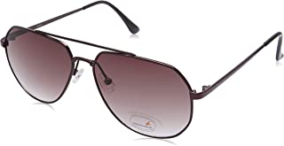 Fastrack Gradient Rectangular Men's Sunglasses - (M198BR3 58 Brown Color Lens)