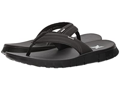 Hurley Fusion 2.0 Sandal (Black) Men