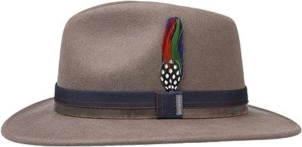 08d636b3808b03 Stetson Parlesto Traveller Wool Felt Hat Women/Men | rain with Leather  Trim, Grosgrain