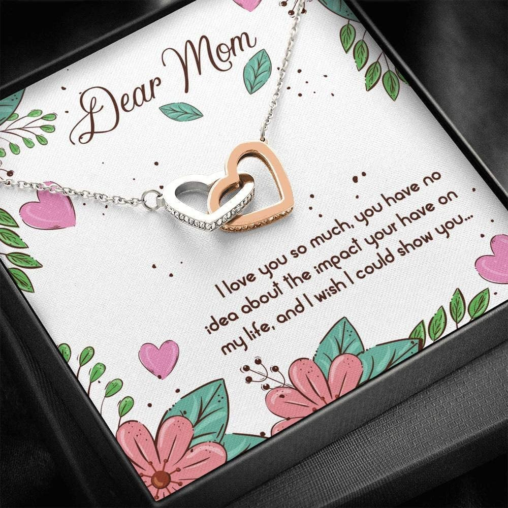 SEAL limited product Personalized Gift - Dear Excellence Mom I Interlocking So Love Much You