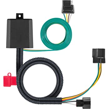 Amazon.com: CURT 56332 Vehicle-Side Custom 4-Pin Trailer Wiring Harness,  Select Hyundai Santa Fe, XL, Veracruz, Kia Sedona, Sorento: AutomotiveAmazon.com