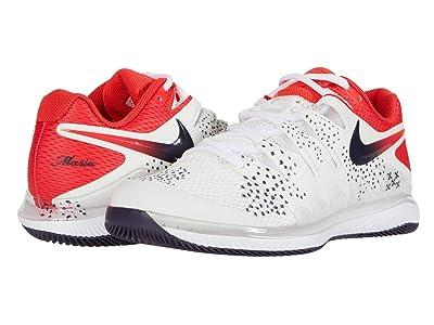 Nike Air Zoom Vapor X (Summit White/Laser Crimson/Gridiron) Women
