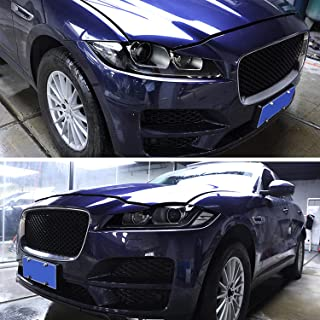 NCUIXZHAcessórios para carro Faróis filme protetor preto fumado TPU, para Jaguar XE X760 XF X260 F-Pace X761 E-PACE XJ X3...