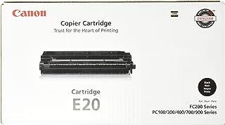 Canon E20 Toner Cartridge (Black, 1 Pack) in Retail Packaging