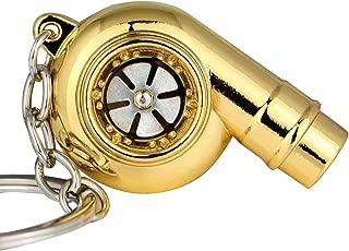 gold turbo keychain