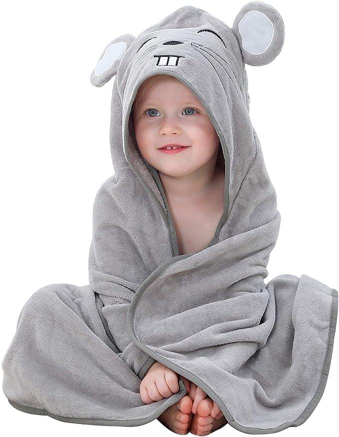 101 opinioni per MICHLEY asciugamani con cappuccio bimbo 100% cotone naturale accappatoio bambina