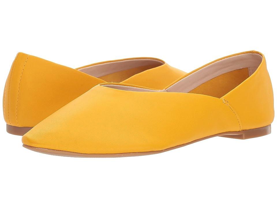 Nine West Monika 40th Anniversary Flat (Yellow Leather) Women