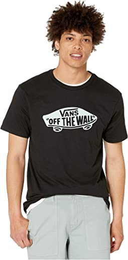 66930ae4a Vans Classic Logo Fill Tee (Big Kids). $20.00. Black/Mist Green