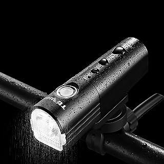 QIAO USB luz de la Bici Luces Recargables para Bicicleta luz Delantera de la Linterna a Prueba de Agua para Bicicletas de ...