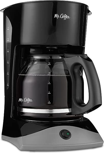 Mr Coffee 12 Cup Coffee Maker Black