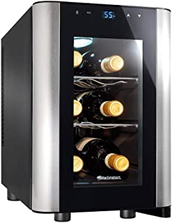 Wine Enthusiast 6-Bottle Countertop Wine Cooler