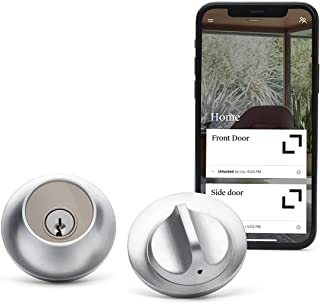 Level Lock - Touch Edition, Keyless Entry Using Touch, a Key Card, or Smartphone. Bluetooth Enabled, Works with Ring and A...
