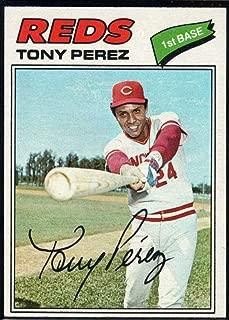 tony perez baseball card