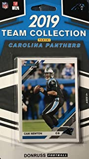 Carolina Panthers 2019 Donruss Factory Sealed 11 Card Team Set with Cam Newton and Christian McCaffrey Plus 3 Rookies and 6 Other Cards
