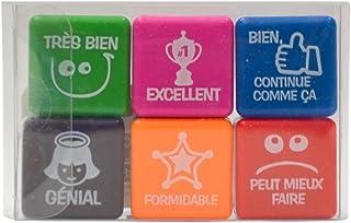 Pack 6 tampons motivation française
