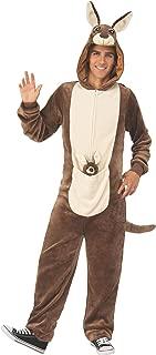 Rubies Kangaroo Adult Comfy Hooded Animal Jumpsuit