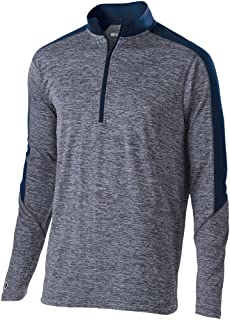 Holloway Dry Excel Electrify Long Sleeve Zip Pullover