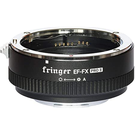 Fringer EF-FX PRO II Fuji Auto Focus Mount Adapter Built-in Electronic Aperture Automatic Converter for Canon EOS EF Lens to Fujifilm X-Mount X-T3 X-T4 X-Pro3 X-T200 X-A7 X-T100 XT30 XH1 XE XT2 X-Pro2