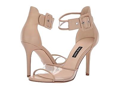 Nine West Mila Heeled Sandal (Light Natural) Women