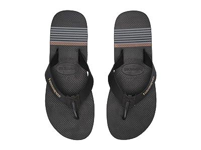 Havaianas Urban Craft Flip Flops (Black) Men