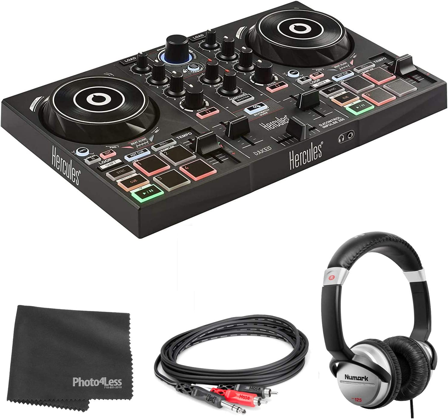 Hercules DJ Indianapolis Mall Control Inpulse 200 Portable Controller USB wit Cash special price