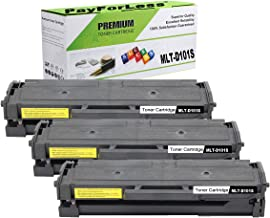 PayForLess Toner Cartridge MLT-D101S 101S BK for Samsung SCX-3405W SCX-3405FW SCX-3405FW ML-2165W SCX-3405 SCX-3400 ML-2165 ML-2160 ML-2161 SF-760P