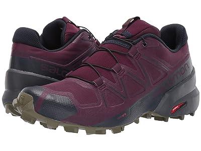 Salomon Speedcross 5 (Potent Purple/Ebony/Burnt Olive) Women