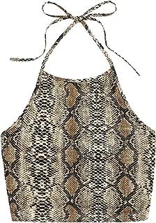 Women's Casual Camisole Sleeveless Vest Halter Cami Tank Top