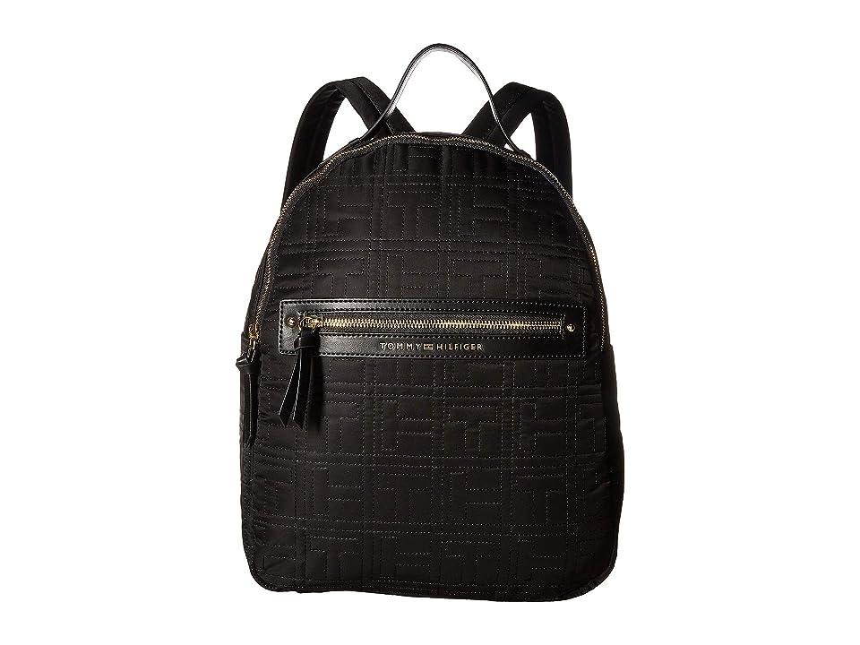 Tommy Hilfiger Zoe Backpack (Black) Backpack Bags