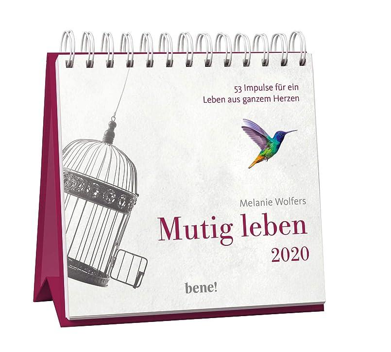 社交的叱る望みMutig leben 2020 - Aufstellkalender: 53 Impulse fuer ein Leben von ganzem Herzen