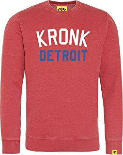 Kronk Iconic Detroit Regular Fit Washed Sweatshirt
