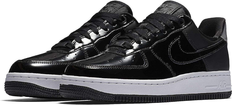 Nike Woherrar W Air Force 1 07 SE PRM, svart svart svart  svart Reflekt silver  detaljhandel