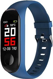 Abyx FIT Smart III monitor aktywności fizycznej, wodoszczelny smartwatch (IP68), z czujnikiem tętna, licznikiem kalorii i ...