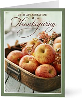 Hallmark Business Thanksgiving Cards for Employees (Apples and Employee Appreciation) (Pack of 25 Greeting Cards)