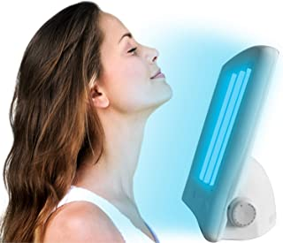 KobbTan Facail Tanning Sun Solarium Lamp Light 110v Face Tanner With Uv Goggles Sun Tan All Year Round