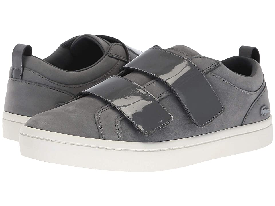 Lacoste Straightset Strap 318 1 (Dark Grey/Off-White) Women