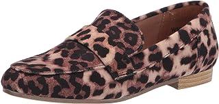 Report womens Kol Penny Loafer, Leopard, 7 US