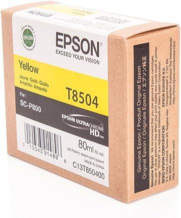 Epson T8504-C13T850400 Sarı Orjinal Kartuş