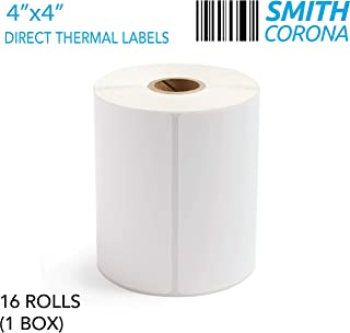 direct thermal labels 4x4
