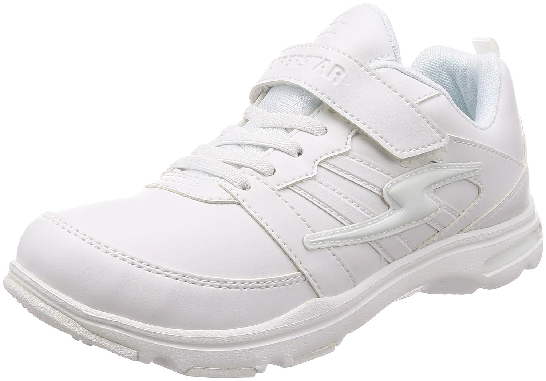[スーパースター] 運動靴 通学履き マジック 19-24.5cm 2E キッズ 女の子 SS J829