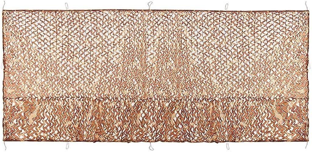 Filet D'ombrage, Filet De Camouflage de Prougeection Solaire Sun Mesh Aventures Tarp Camo Sails Filet marron, Pour Largr Garden Balcon Prougeection Privée Couvertures Végétales, Plusieurs Tailles