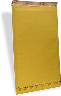 "Polyair Eco-lite #7 ELSS7 Golden Kraft Self Seal Bubble Mailer, 14 1/4"" x 20"" (Case of 50)"