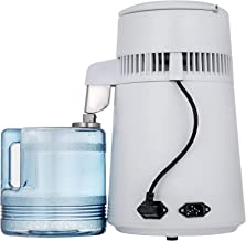 VEVOR Countertop Water Distiller 745W Purifier Filter with Handle 1.0 Gal 4.2L BPA Free Container Perfect for Home Use, 4L...