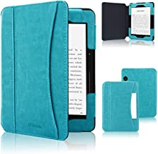 ACdream Case Fits Kindle Voyage 2014 Release, Folio Smart Cover Leather Case with Auto Wake Sleep Feature for Amazon Kindl...