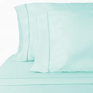 ViscoSoft Grace Premium Microfiber Aqua Sheet Set Queen - 16