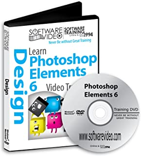 Software Video Learn Adobe Photoshop Elements 6 Training DVD Christmas Holiday Sale 60% Off training video tutorials DVD Over 12 Hours of Video Tutorials Training