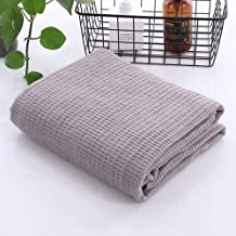 Soft Knitted Throw Blanket Shawl Scarf Plaid Towel Blankets for Travel Airplane Portable Blanket 105x150cm
