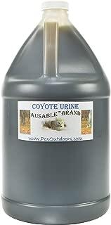 AuSable® Brand Coyote Urine 1 Gallon of Pure Coyote Urine